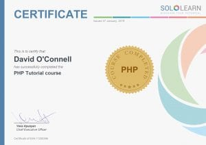 PHP Cert